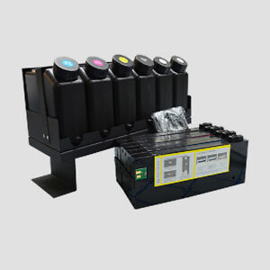 Details about UV Bulk Ink Supply System CISS for Roland/Mimaki/Mutoh 6x6  Printer -without chip