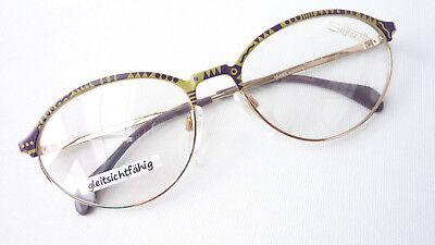 Occhiali Da Donna Grande Lusso Versione Vintagebrille Eyecatcher Silhouette 6131 Misura L-mostra Il Titolo Originale Beneficiale Per Lo Sperma