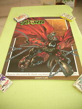 >> SPAWN IN THE DEMON'S HAND CAPCOM ARCADE B1 SIZE OFFICIAL POSTER! <<