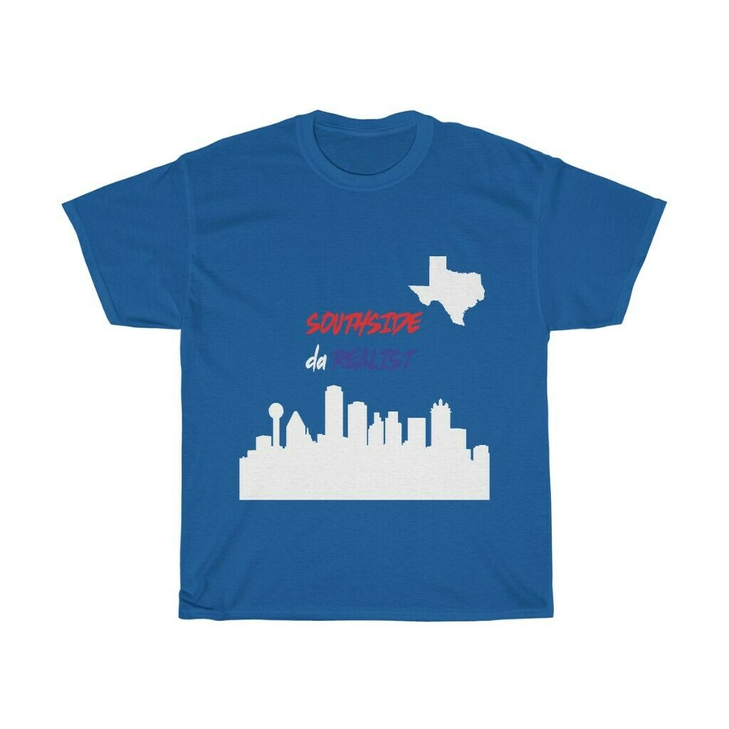 Fired Up Garage Texas Hanes Tagless Tee T-Shirt Dallas