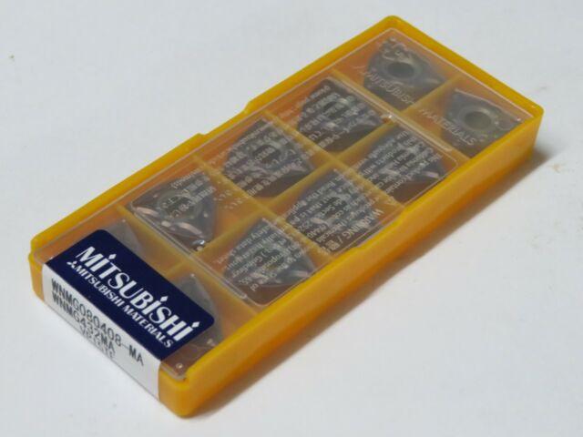 10 pcs MITSUBISHI Carbide inserts WNMG 432 MA WNMG 080408-MA Grade VP15TF