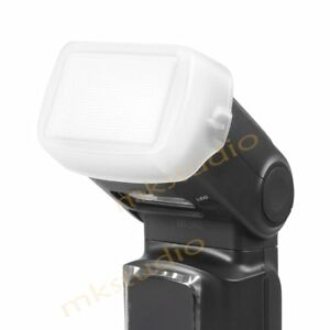 White-Bounce-Flash-Diffuser-Dome-Cover-for-Yongnuo-YN968EX-RT-Flashgun-Speedlite