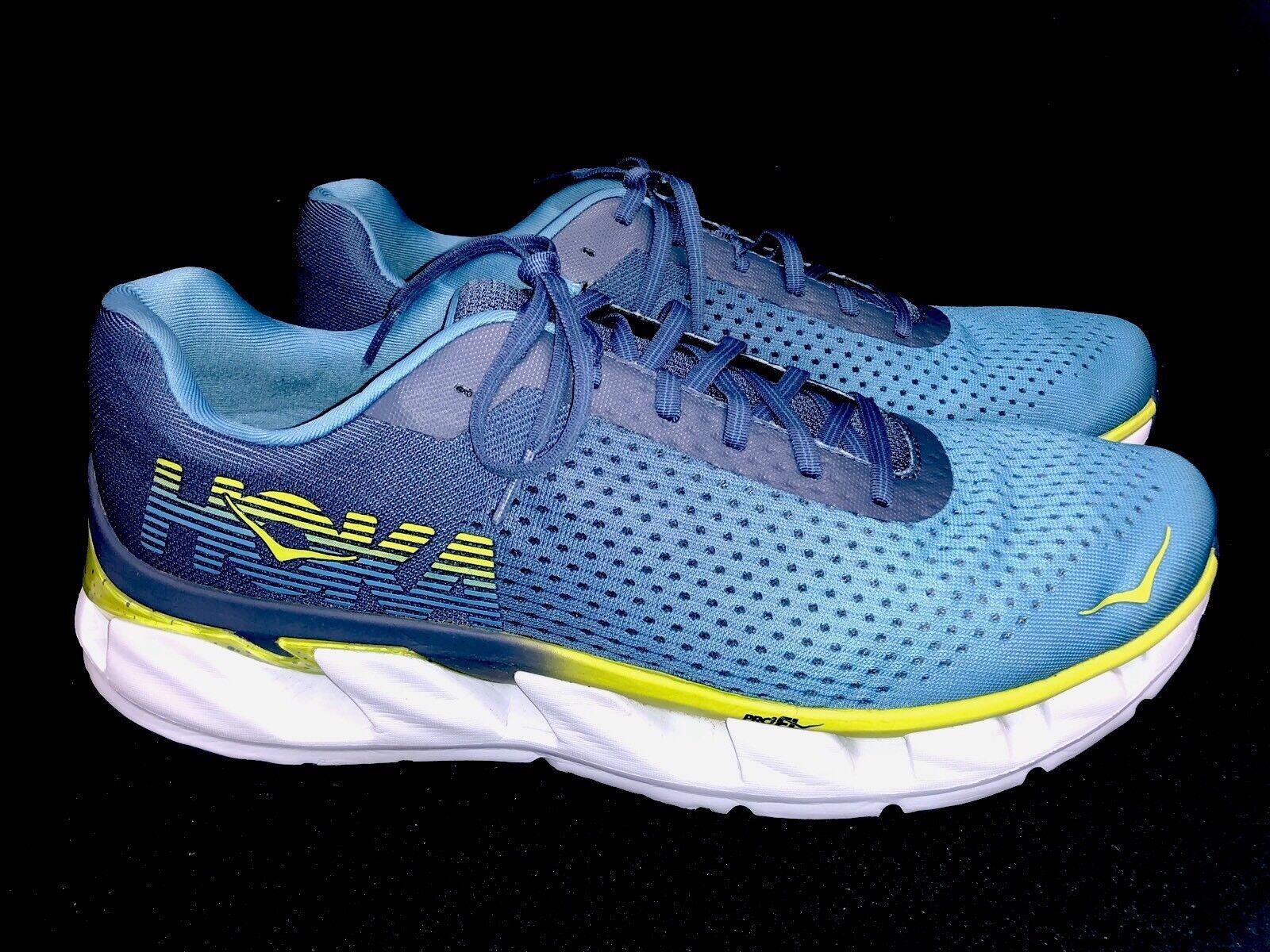 HOKA ONE ONE Elevon running tennis scarpe scarpe scarpe Lace Up NIAGARA blu   VINTAGE INDIGO d10b57