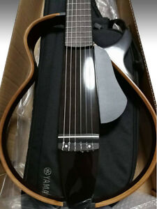 1849750dcc7 Image is loading YAMAHA-Silent-Acoustic-Classical-Guitar -SLG200N-TBL-Natural-