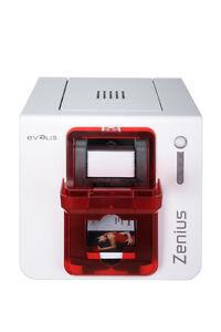 Evolis-Zenius-Classic-USB-ROSSO-zn1u0000rs-Bundle-stampante-carta