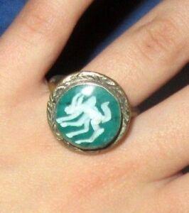 Ring-Animals-Afghan-Kuchi-Tribal-Alpaca-Silver-Size-10