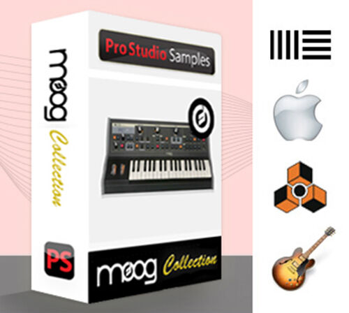 Moog Synthesizer Collection - Pro Studio Samples