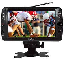 """SUPERSONIC 7"""" PORTABLE TV AVI MOVIE MP3 PLAYER W/ USB SD CARD REMOTE"""