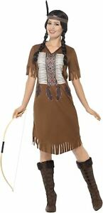 mujer-marron-Nativo-Americano-Inspirado-Warrior-Disfraz-de-princesa