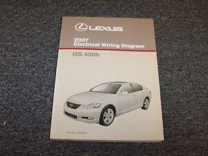 2007 lexus gs450h sedan factory original electrical wiring. Black Bedroom Furniture Sets. Home Design Ideas