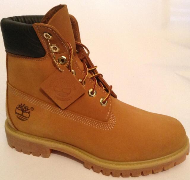 327d38e391bab Timberland Icon 6in Premium Waterproof Mens BOOTS - Wheat Nubuck All ...
