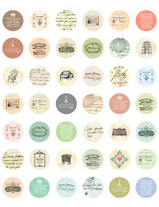 image regarding Printable Bottlecap Images referred to as Information around Common/ Antique French/ Paris PRINTABLE Bottle Cap Shots ~ 42 Ideas!