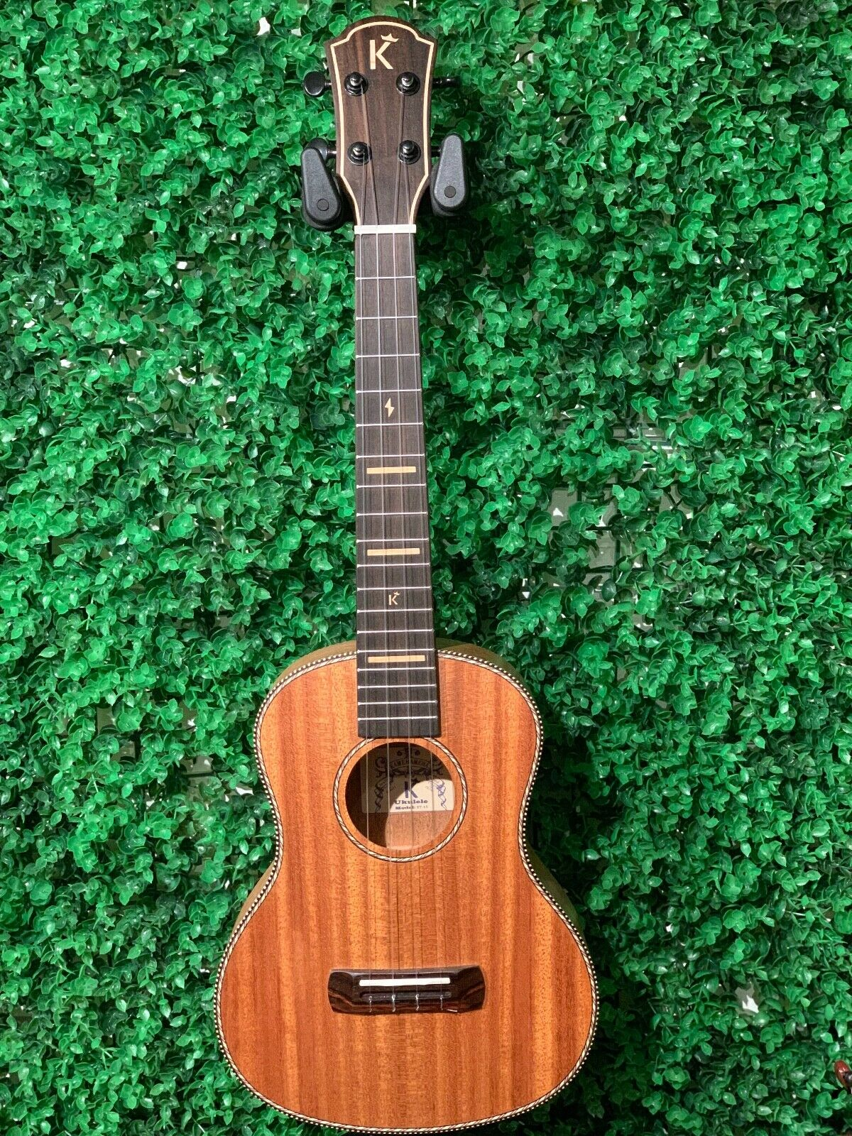 Kamehameha Ukulele KT-15 Tenor Mahogany Come with case&strap&tuner