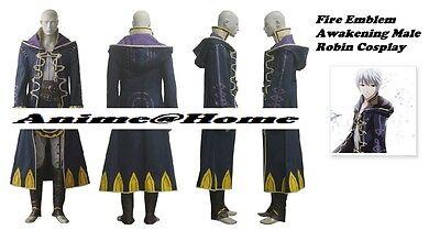Fire Emblem EXPO Limited Awakening My unit costume hooded big towel boy Cosplay