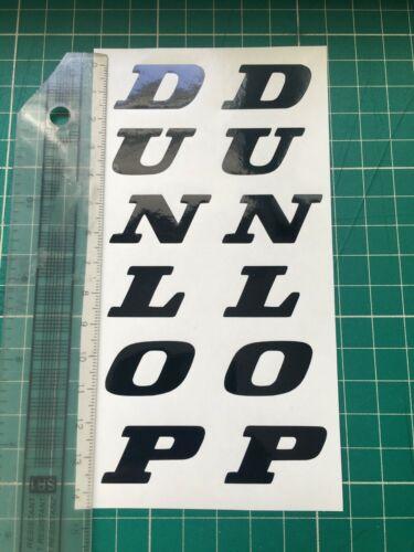 Dunlop Decals Stickers Race Bike Trackday Road Fairing Mudguard Fender