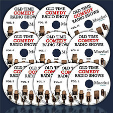 Huge Collection of Old Time Comedy Radio Shows–6226 Mp3 - 11 DVD/ 2598 Hours OTR