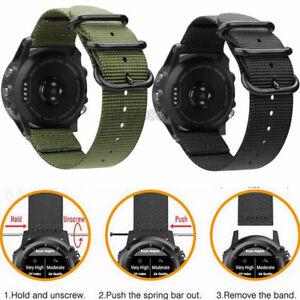 Ersatz Nylon Armband Armband Fur Garmin Fenix 3 3 Hr Fenix 5 5x