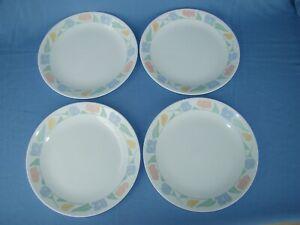 8 vintage corelle corning bread dessert plates friendship