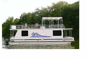 Houseboat Graphic Kit Vinyl Decal Boat Stickers X EBay - Houseboats vinyl decals