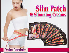 Fast Weight Loss Patches Slimming Stickers Burn Fat Detox Pads 100 Slim Patches