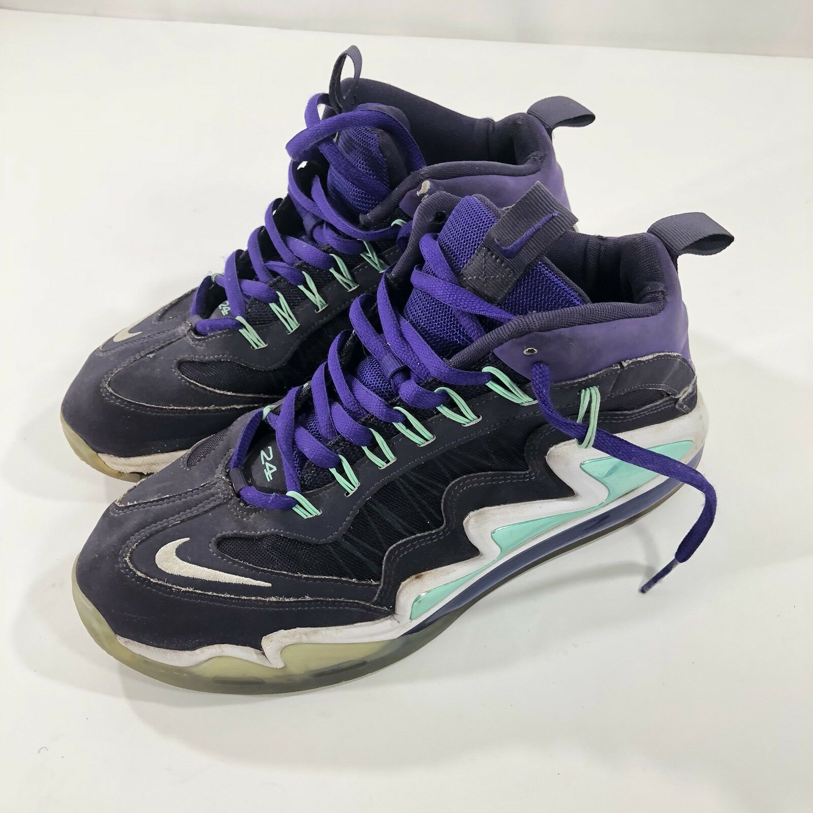 Nike Air Max 360 Diamond Griffey Athletic Shoes Purple White 580398-500 Price reduction best-selling model of the brand