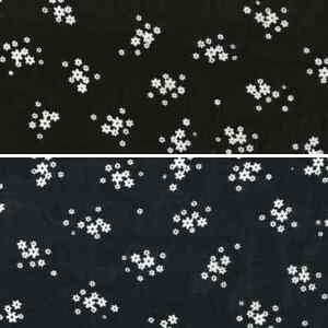 Bunched-Daisy-Heads-Floral-Flowers-100-Viscose-Print-Fabric-140cm-Wide