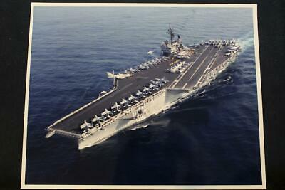 8' X 10' Color Photo Frugal Military Ship Photo Uss Kitty Hawk cv-63 p1291 Elegant In Smell