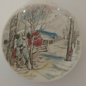 """Johnson Brothers The Friendly Village Saucer Plate 4"""" Made In England"""