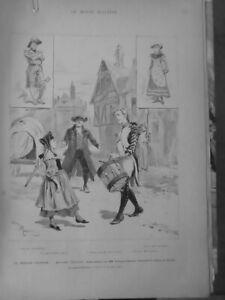 1882 Erckmann-Chatrian Madame Therese Teatro 2 Periódicos