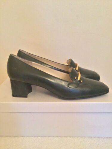 Green 38 Dark All Leather Size New scarpe Court Herzag Brand 5 qfZTBT