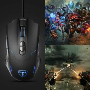 7200-DPI-Wired-Gaming-Mouse-RGB-Backlit-Programmable-Buttons-Optical-USB-Mice