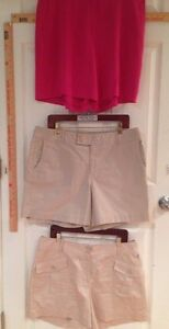 Women-039-s-14-Tommy-Bahama-Silk-Pink-Shorts