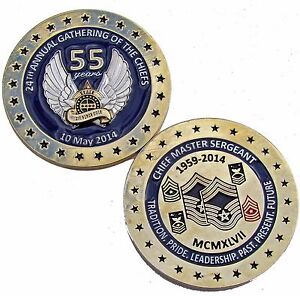 US-Air-Force-24th-Annual-Gathering-of-the-Chiefs-55-years-Challenge-Coin