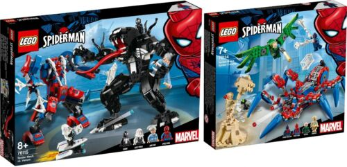 LEGO Super Heroes 76114 76115 Spider Man Spinnenkrabbler N12//18