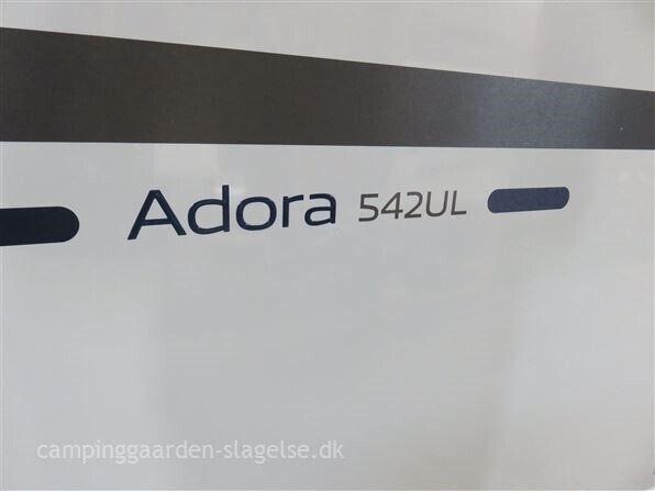Adria Adora 542 UL, 2019, kg egenvægt 1270