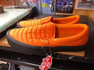 7c839fd2356a Vans Slip-On Lite (Quilted) Russet Orange Black Size US 8 Men s ...