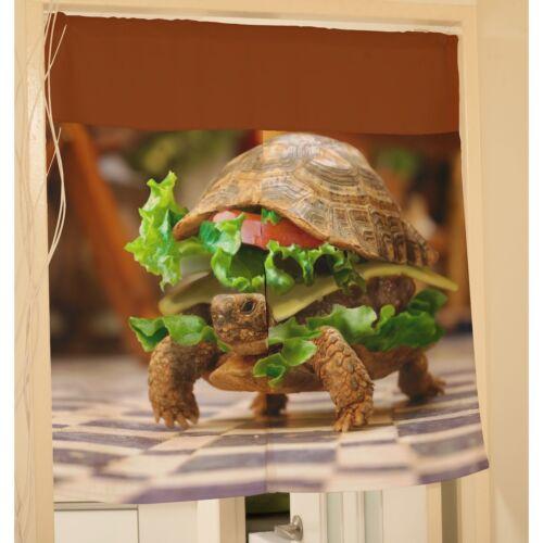 Funny Tortoise Turtle Hanging Door Curtain Window Scarf y39 y0022
