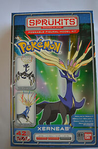 Sprukits: Pokemon Xerneas Model Kit
