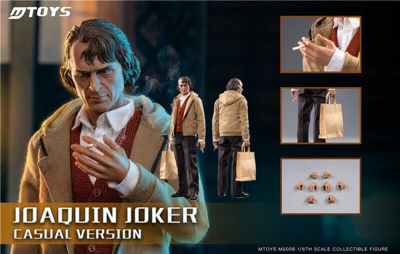 MJuguetes MS009 Joker Joaquin Phoenix Casual Wear versión 1 6 figura de acción de Hot TOYS