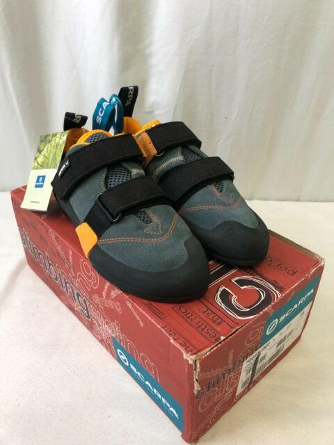 Scarpa Force V Men's Climbing Shoes Mangrove/Papaya Size 6