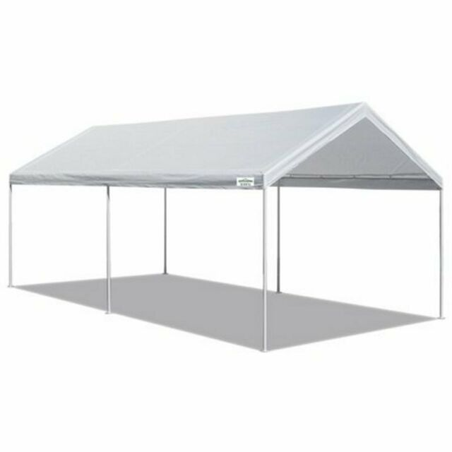 Carport Garden Winds Universal Replacement Canopy for 10 x 20 White CP1020
