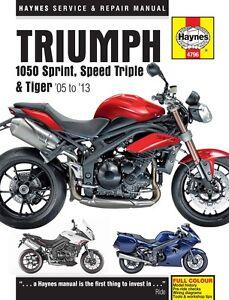 Triumph-1050-Sprint-ST-Speed-Triple-Tiger-2005-2013-Haynes-Manual-4796-NEW