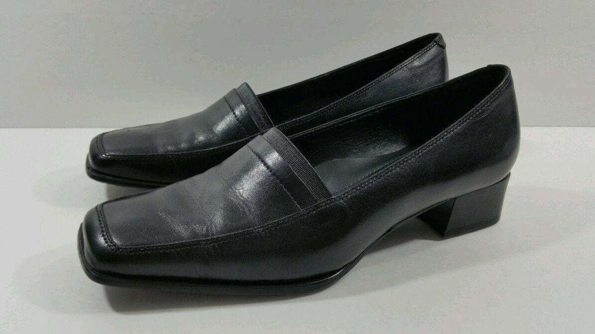 Ecco Women's Black Loafers - Size 36