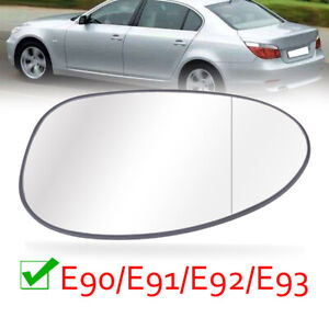 Auto Blue Rearview Left+Right Wing Mirrors For BMW E90 318 320i 325i 2004-2007