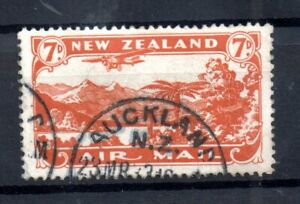 New-Zealand-1931-7d-Airmail-good-used-SG550-WS16674