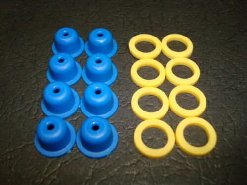Bosch and Denso EV1 Top Feed Fuel Injectors Universal Pintle Caps and Spacers.