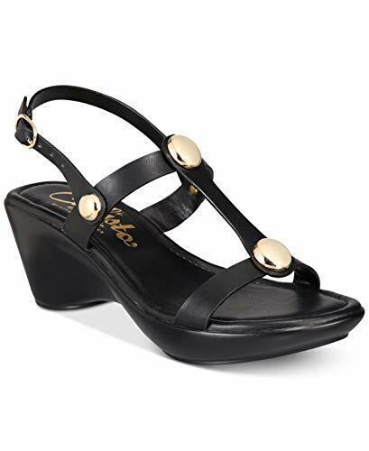 Callisto Toggle Women Wedge Sandals (9 M, Black)