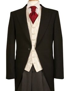 Image Is Loading Mens Wedding Suit Hire 50 Complete Package Black