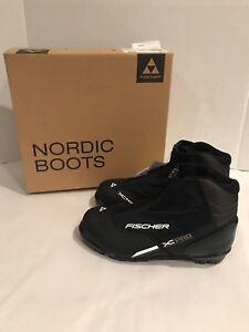 Fischer-XC-Comfort-Pro-Cross-Country-Ski-Boot-Black-Silver-S21716-Mens-EU-Sz-48