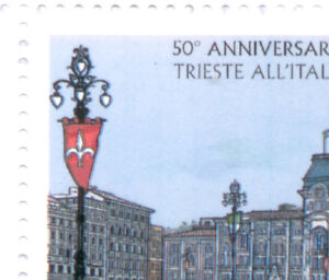 2004-Italia-Repubblica-varieta-TRIESTE-DA-LIBRETTO-STAMPA-MOSSA-COME-FOTO-mnh